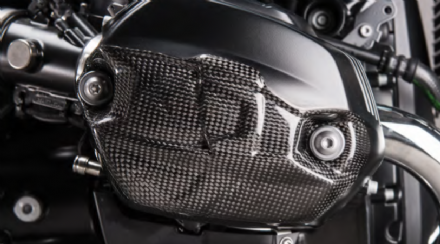 LighTech Carbon Fibre Engine Covers BMW R-Nine T Scrambler 2016>